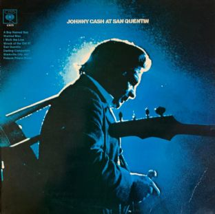 Johnny Cash - Johnny Cash At San Quentin (LP) (G+/G)